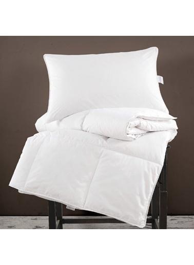 Marie Claire Yorgan-Çift Kişilik Samara Kaz Tüyü Yorgan 195*215 Cm Beyaz Beyaz